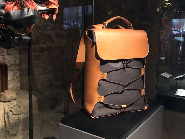 Our Backpack is on display at Koldinghus