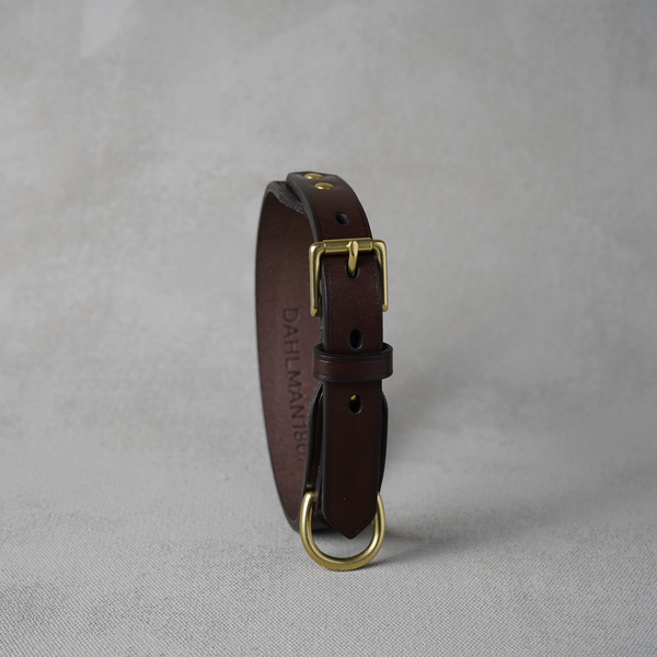 Dog Collar, Dark Brown