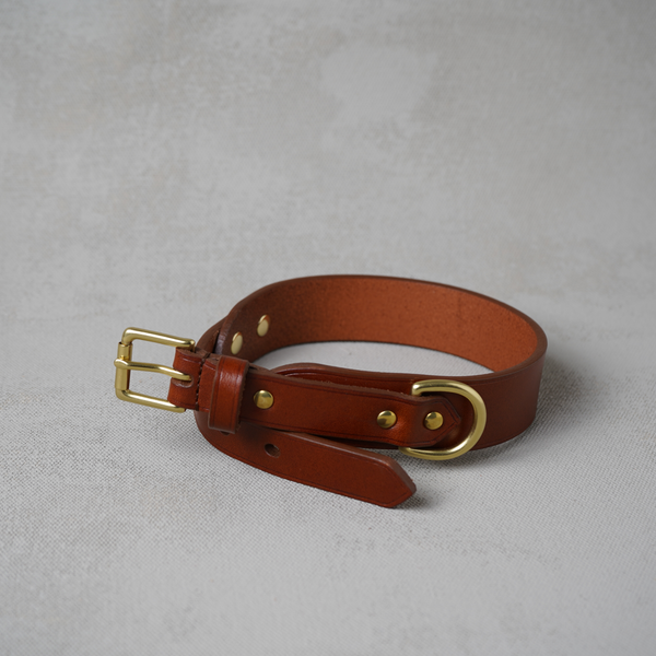 Dog Collar, Chestnut