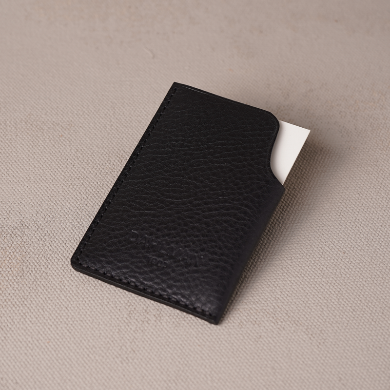 Folded Cardholder, Black