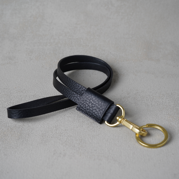 Key Hanger, Black and Brass