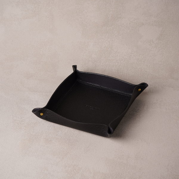 Small Valet Tray, Black