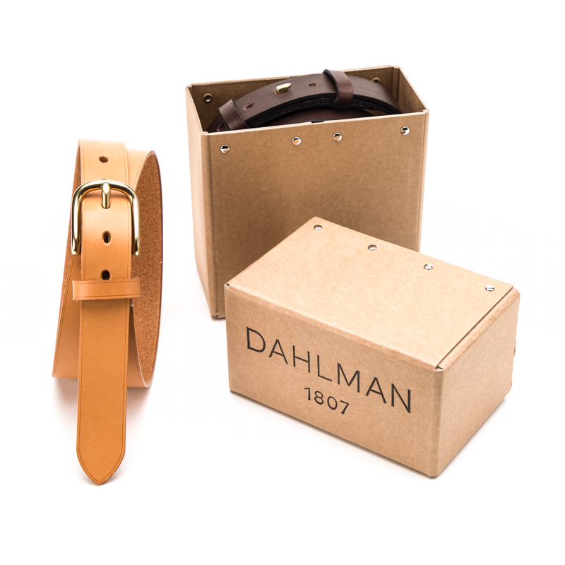 Bremerholm Buckle, Fullgrain Belt, Tan