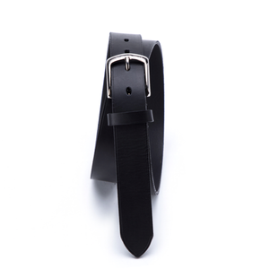 Bremerholm Buckle, Fullgrain Belt, Black