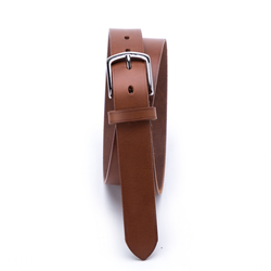 Bremerholm Buckle, Fullgrain Belt, Light Brown