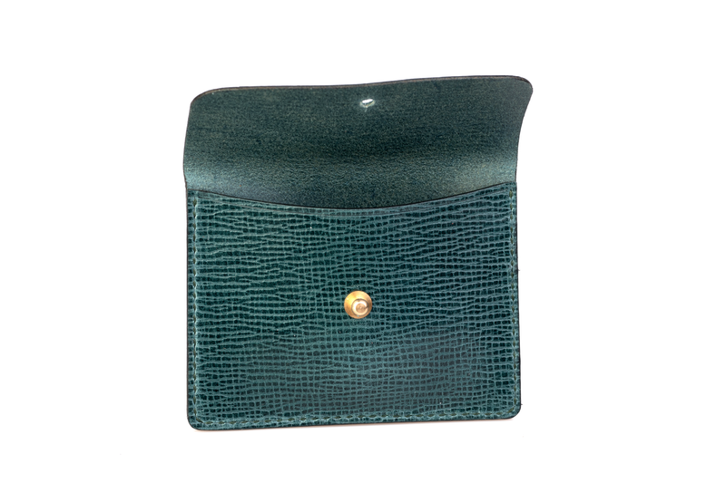 Coin Wallet, Agave Green