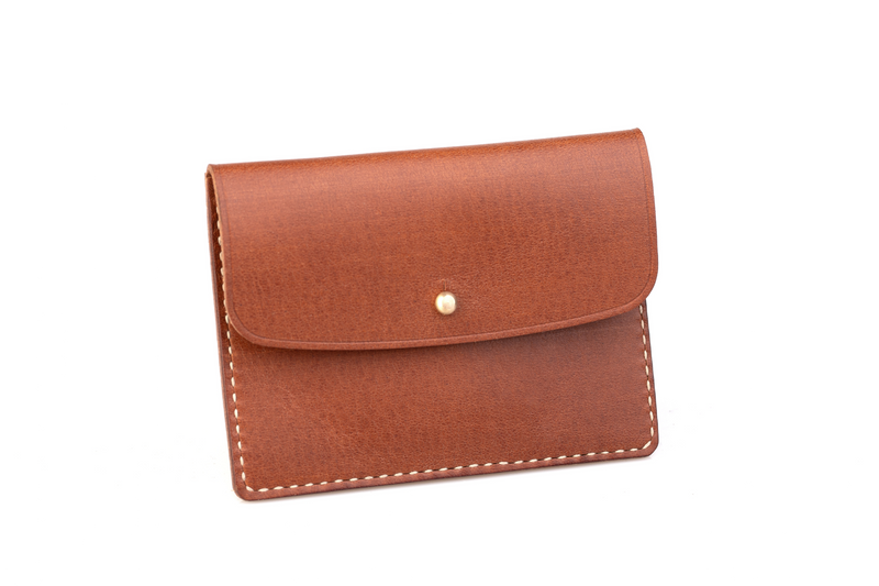 Coin Wallet, Light Brown