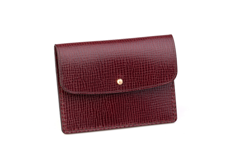 Coin Wallet, Ox Blood