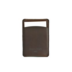 Card Holder, Dark Brown