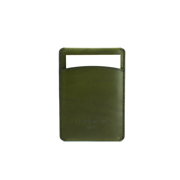 Card Holder, Dark Green
