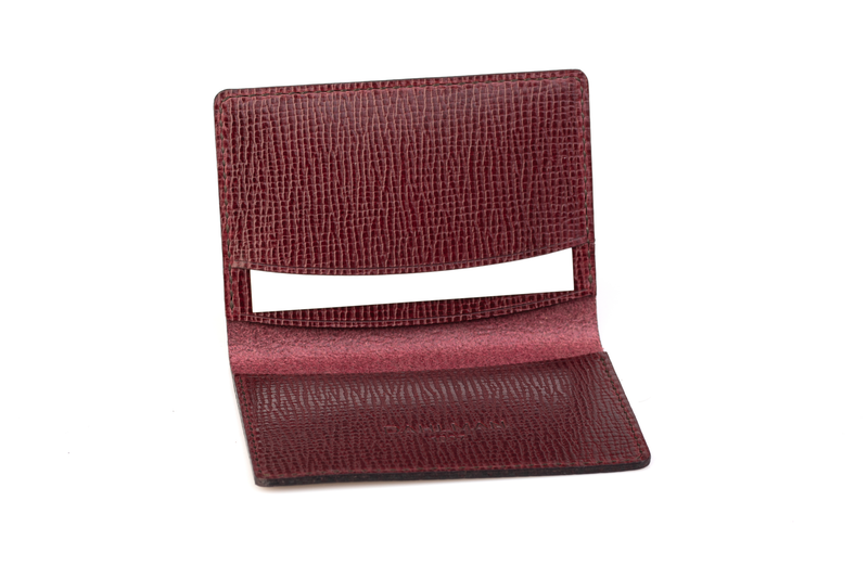 Bi-fold Wallet, Ox Blood