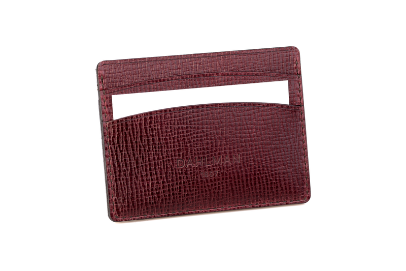 Double-sided Cardholder, Ox Blood