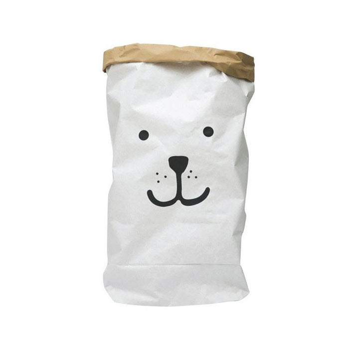 Bear Face Paper Bag