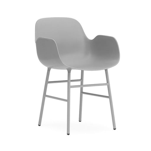Steel Form Armchair