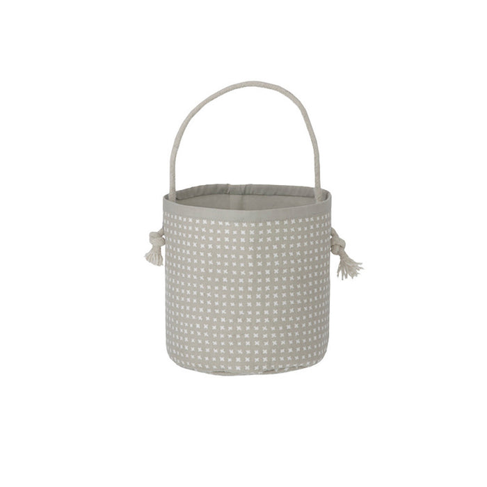 Grey Cross Basket