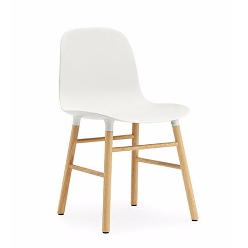 White Form Chair