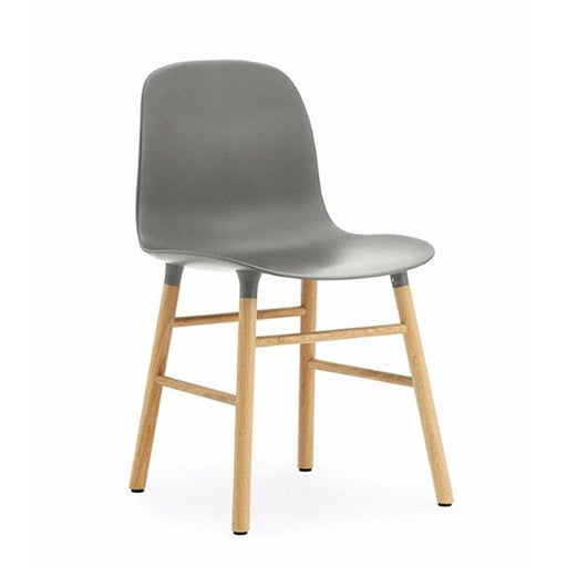 Grey Form Chair