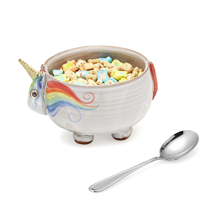 Elwood the Unicorn Cereal Bowl