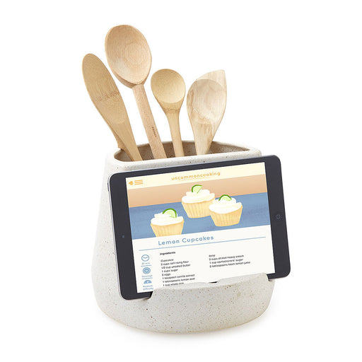 Kitchen Utensil & Tablet Holder