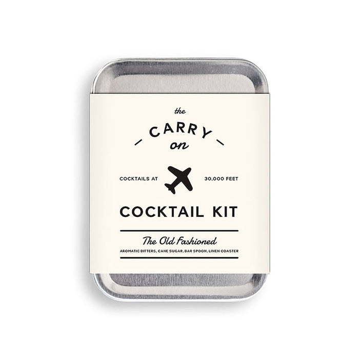 Old Fashioned Carry-On Kit