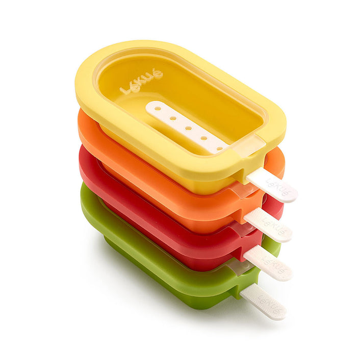 Stackable Ice Pop Molds (Set of 4)