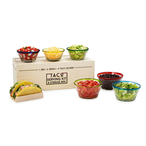 Taco Serving Kit & Storage Box