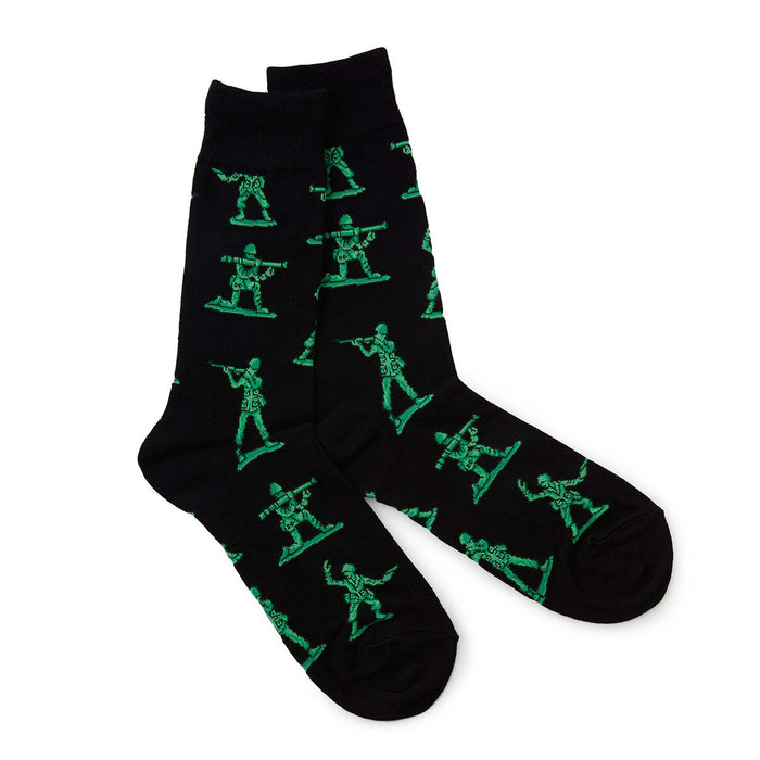 Toy Army Soldier Socks