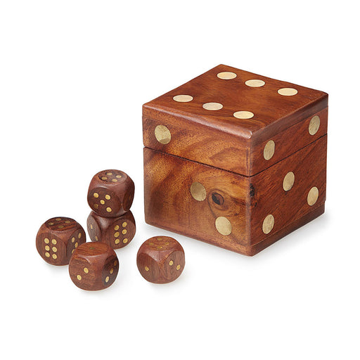 Wooden Dice Set