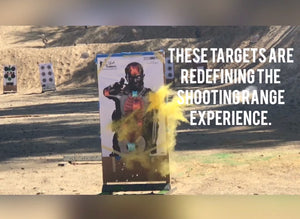 Exploding Targets Yellow Color