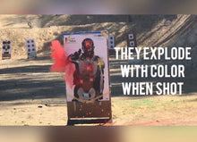 Exploding Targets Red Color