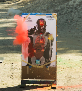 Exploding Targets Red