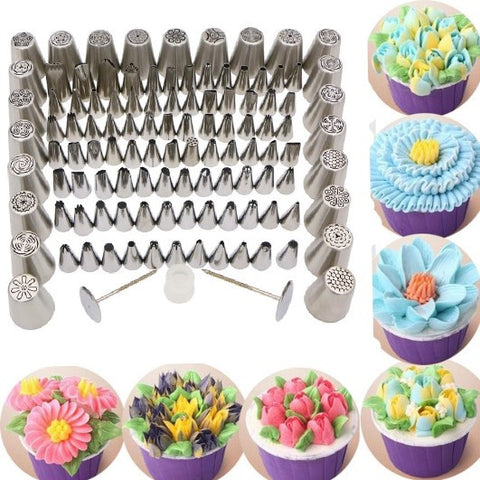 Decorator Queen 110Pc Piping Tip Set