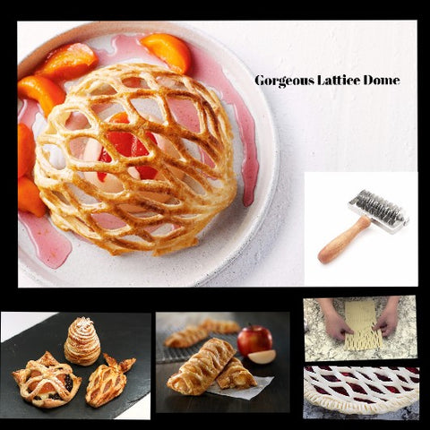 Perfect Pies Professional Stainless Lattice Pastry Cutter