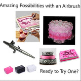 Cake Artistry Mini Airbrush Decorating Set