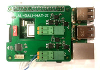 Raspberry Pi DALI HAT - DALI lighting master controller AL-DALI-HAT