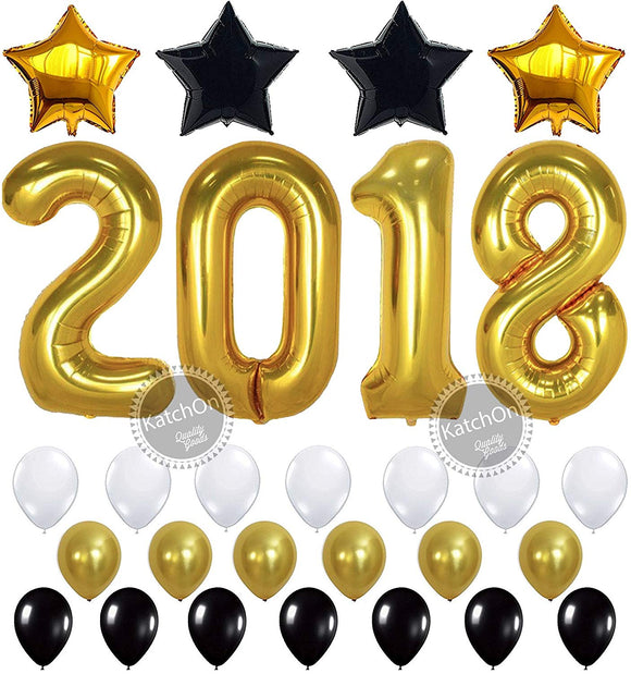 Large 40 Inch 2019 Balloons Rose Gold New Years Eve Party Supplies 2019 Graduation Decorations KatchOn 2019 Rose Gold Confetti Balloons Kit Graduations Party Supplies 2019 New Years Party Decorations