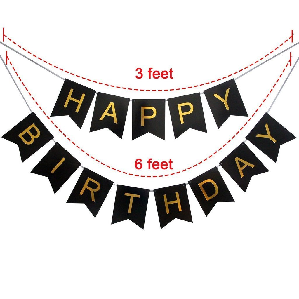 Adult birthday banner