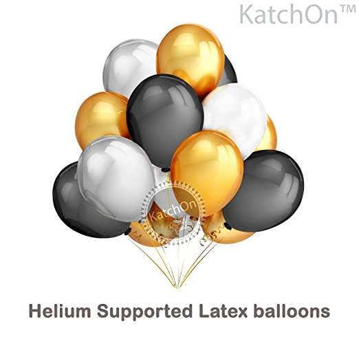 70th Birthday Party Decorations Kit 70th Birthday Party Supplies 70 Balloons Number Black And Gold Banner And Balloons Great 70 Years Old