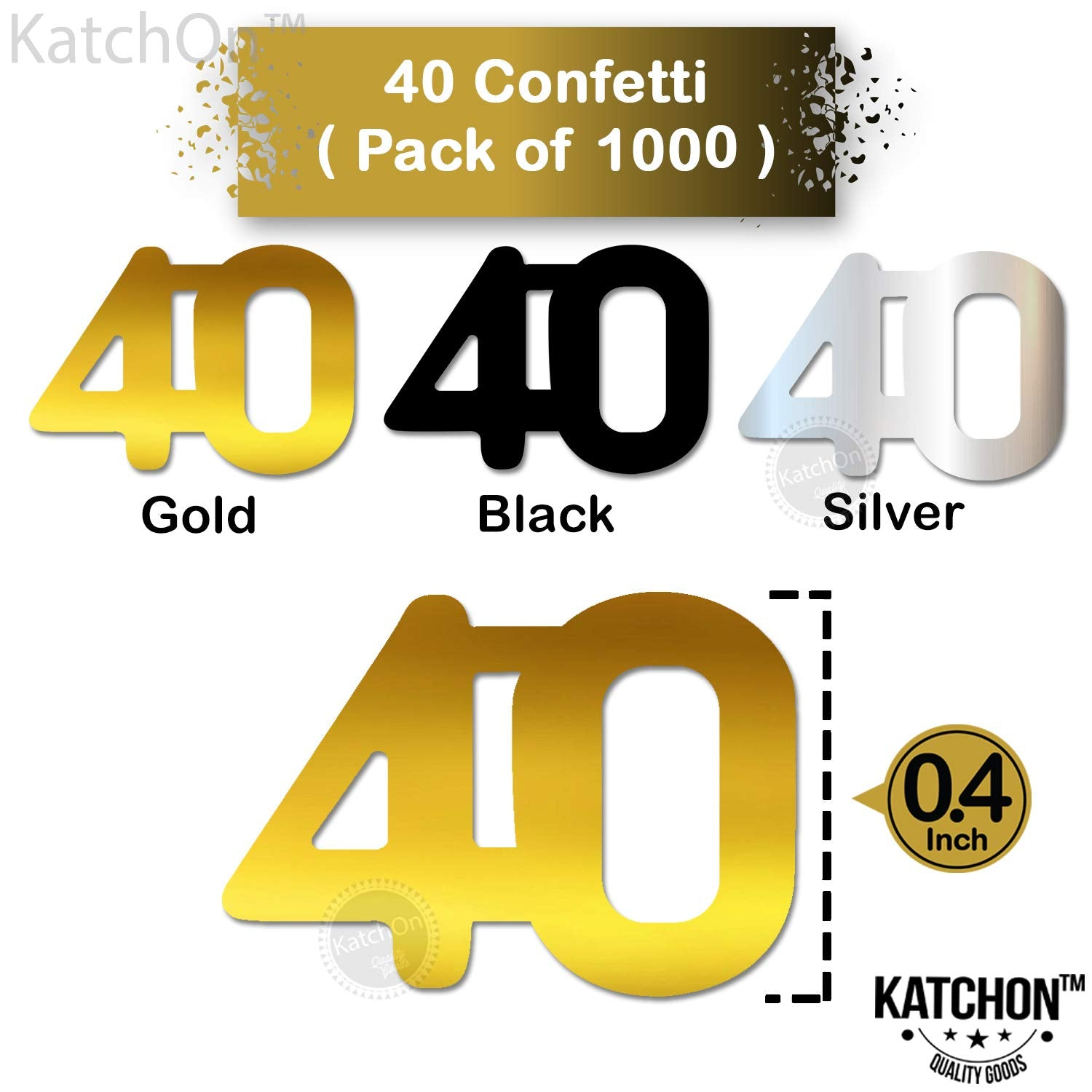 BLACK AND SILVER FOIL CONFETTI SCATTERS 50TH BIRTHDAY ANNIVERSARY PARTY TABLE