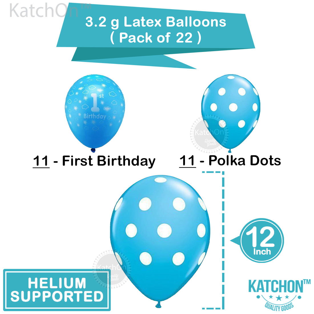 graphic about 1st Birthday Party Checklist Printable named 1st Birthday Boy Balloons Fixed - Reward - Printable Occasion