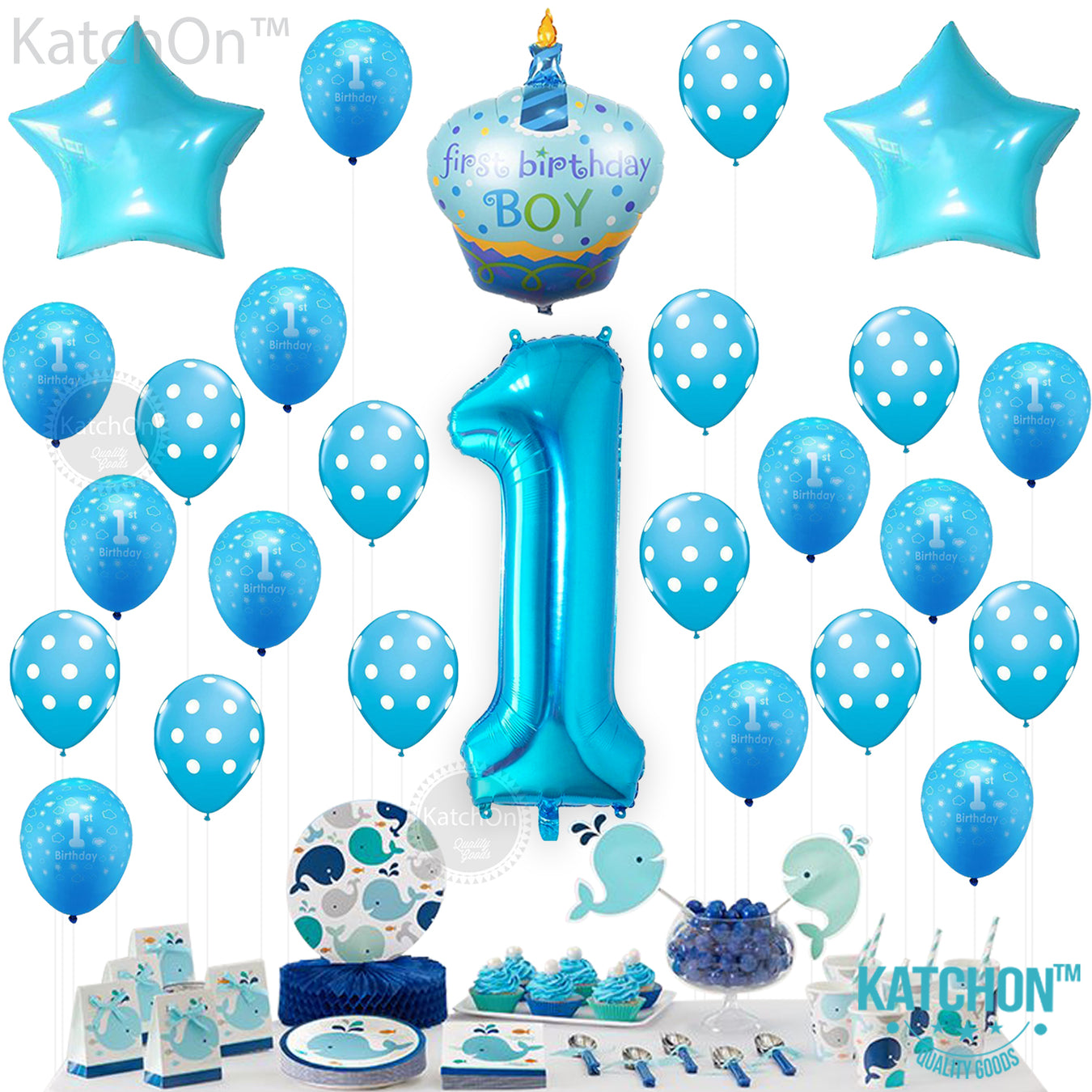 Boy Birthday Balloons