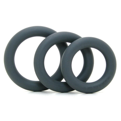 SOFT AND THICK SILICONE PENIS PERFORMANCE C-RING KIT BY OPTIMALE