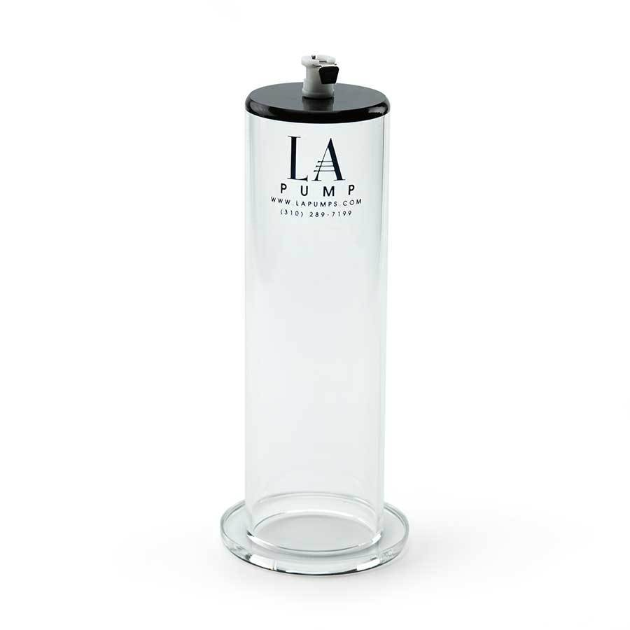 LA Penis Pump Professional Grade Cylinder 3.5 Inches X 9 Inches Clear Accessories