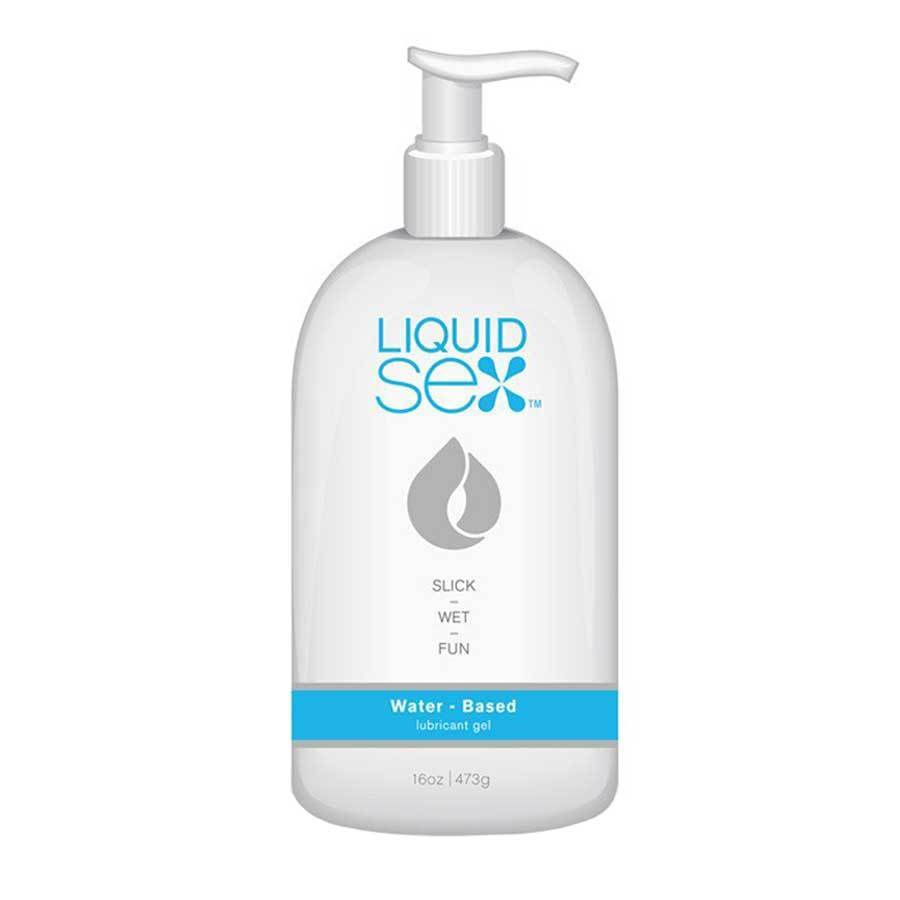 Liquid Sex Lube Water Based Sex Lubricant 16 oz Lubricant