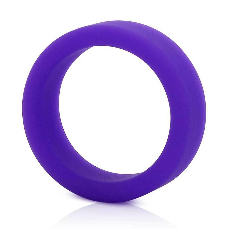 Tantus Silicone Cock Ring Super Soft C-Ring for Men Cock Rings Purple