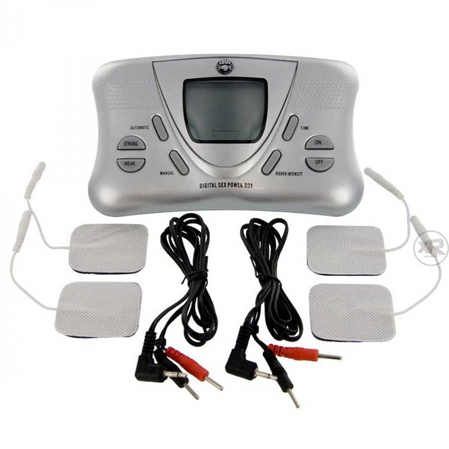 Zeus Electrosex Deluxe Digital Power Box for Electro-Stim Accessories