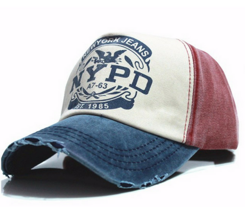 New York Jeans NYPD Vintage Baseball Cap