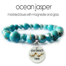 Load image into Gallery viewer, Beach Badge Beaded Bracelet