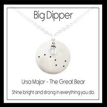 Load image into Gallery viewer, The Big Dipper Constellation Necklace