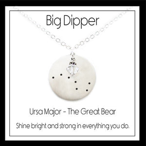 The Big Dipper Constellation Necklace